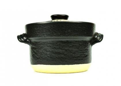 Black Donabe Rice Cooker