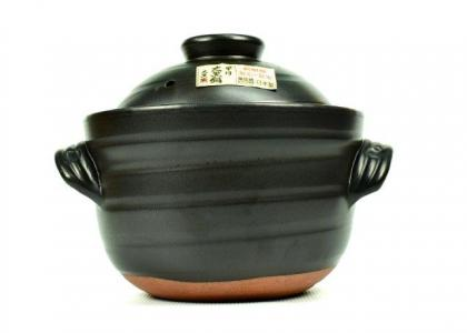 Yorozufuru-sho Rice Pot (Size 6)