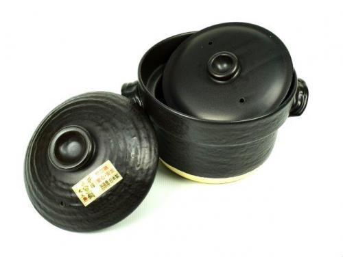 Black Donabe Rice Cooker